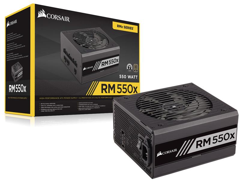 FONTE 550W CORSAIR RM 500X CP-9020090-WW