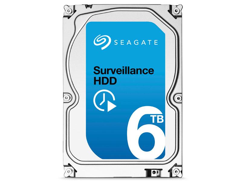 HD SATA3 6TB SEAGATE SURVEILLANCE ST6000VX0001