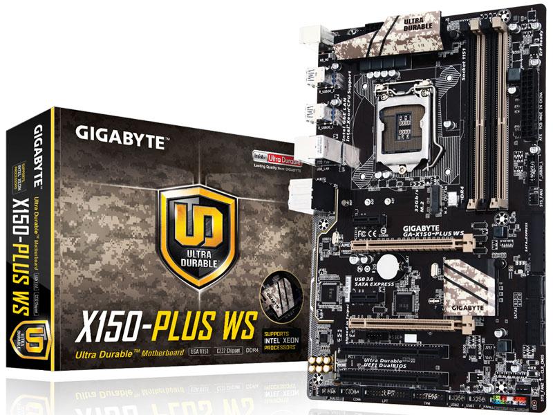 PLACA MAE LGA1151 GIGABYTE GA-X150 PLUS WS
